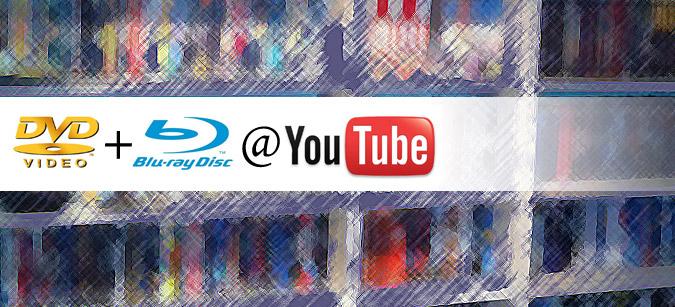 DVDs und Blu-ray auf youtube